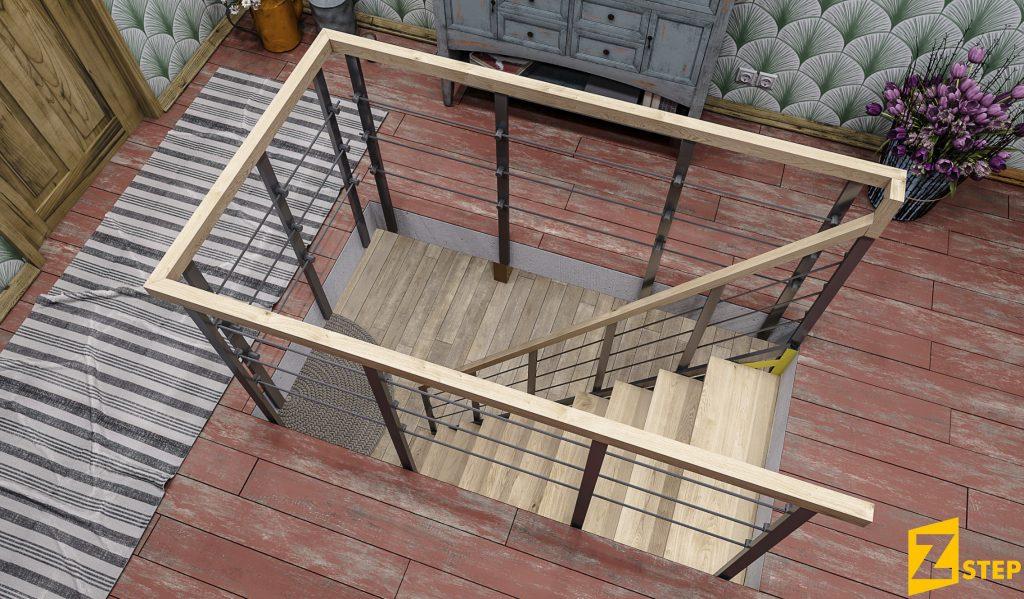 лестницы_Zstep_stairs_прямая ЭКО_bereza_3