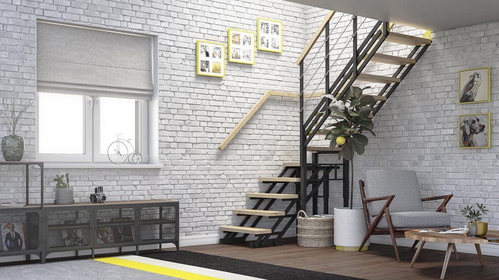 лестницы Zstep stairs LOFT черная