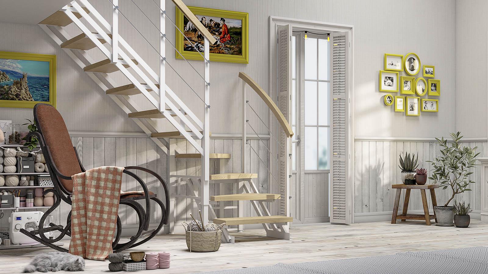лестницы Zstep stairs LOFT