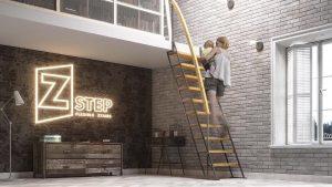 лестницы Zstep прямая ЭКО