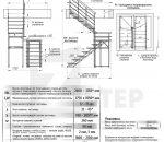 Размеры и параметры лестницы Zstep